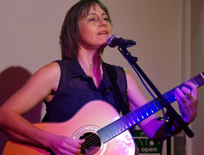 Liz Simcock at Orpington Folk Club