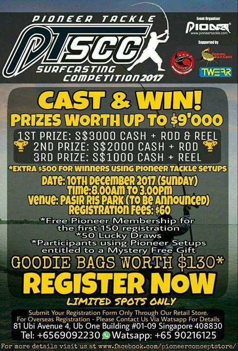 PIONEER PTSCC SURFCASTIMG competition 2017