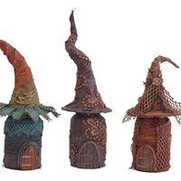 Fairy houses - Powertex workshop