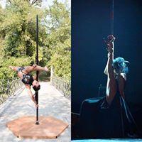 Bettina Campolo &amp Tais Klochkova at Pole Dance Parma