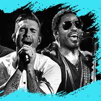 Red Hot Maroon 5 &amp Lenny Kravitz  Festa Uptown Funk Vol. 3