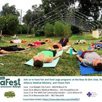 YogaFest Raleigh 2017 - June 3 - Raleigh City Farm