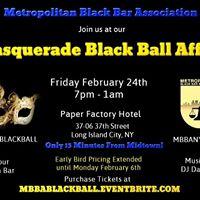 MBBAs Masquerade Black Ball Affair