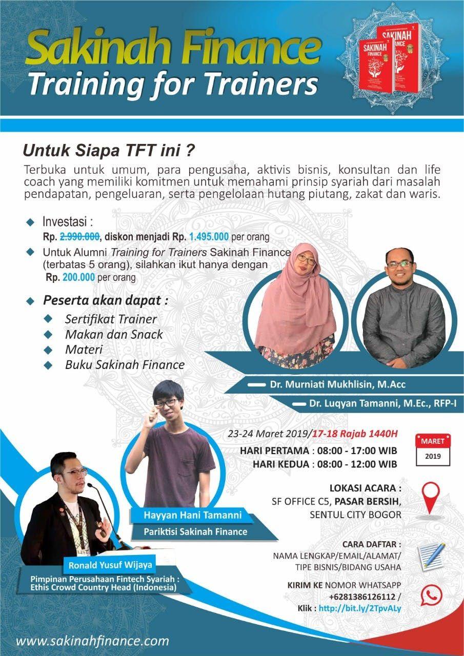 Sakinah Finance Training for Trainers Batch III
