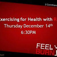 Exercising for Health wRJ