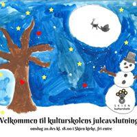 Juleavslutning for kulturskolen