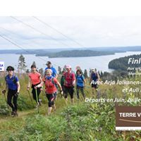 Voyages Marche Nordique Finlande Juillet avec Arja et Auli