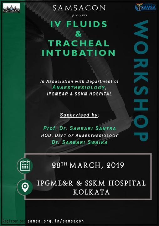 IV fluids and Tracheal Intubation Workshop