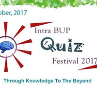 Intra BUP Quiz Festival 2017