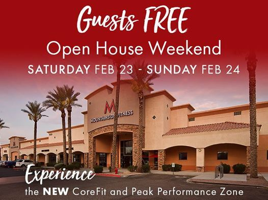 Open House - All Guests Free