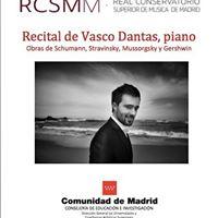Recital de Vasco Dantas en Madrid