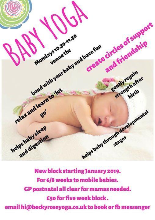 Mum & Baby Yoga (6w - precrawling)6 PAYG