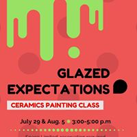 Glazed Expectations - Ceramics Painting Class