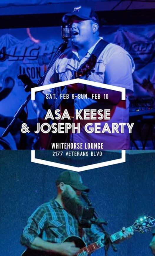 White Horse Lounge with Joseph Gearty