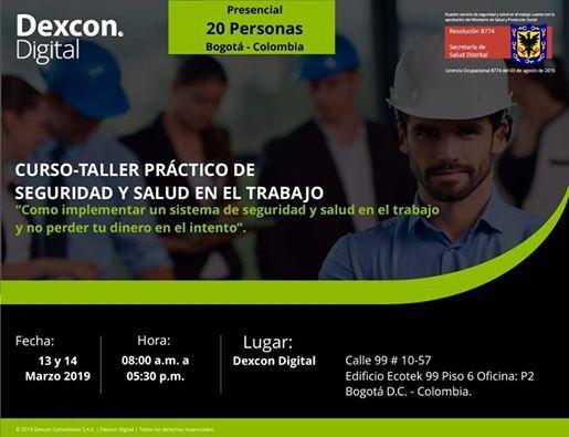 Curso Taller Seguridad y Salud en el Trabajo