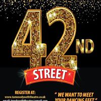 Open Auditions - 42nd Street DAY 2 Actors SingersDancers