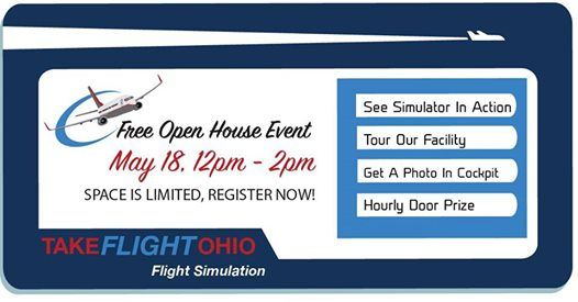 Free Open House Event - Flight Simulator Open To The Public at Take