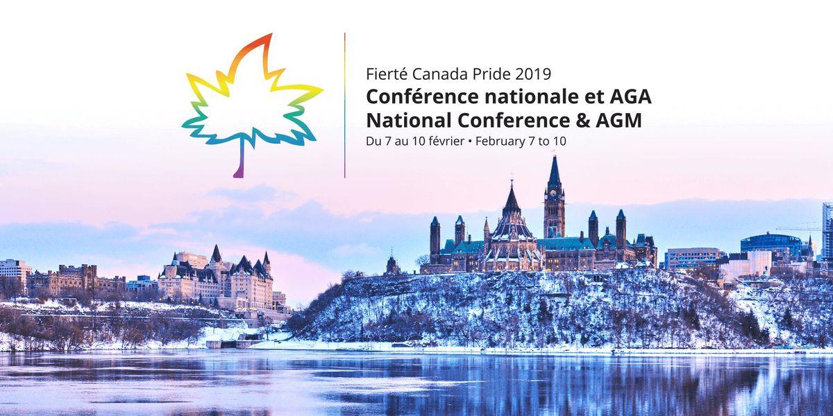 Confrence nationale et AGA 2019 de Fiert Canada Pride [FR]