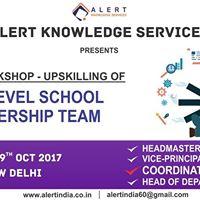 Workshop for Up-skilling of Mid-level School Leadership Team