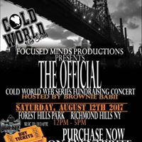 Cold World Web series Fundraiser Party