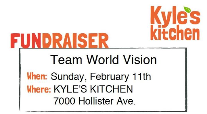 Kyles Kitchen Fundraiser For Clean Water At 7000 Hollister