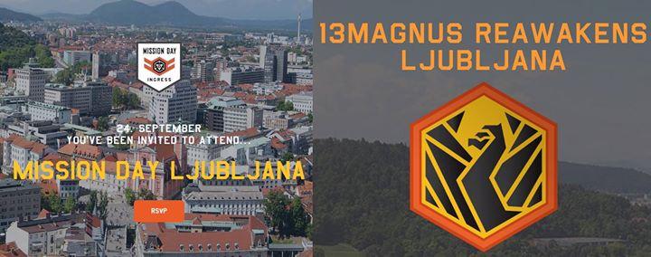 Ingress XM Anomaly  Mission Day Ljubljana