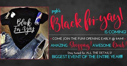 be71d016933 Black FriYAY - Biggest Event of the Year! at Paisley Grace Boutique ...