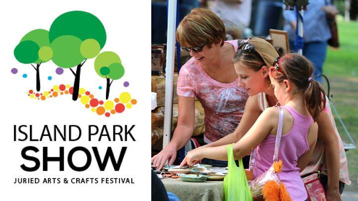 Fargo Island Park Craft Show