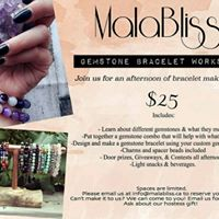 MalaBliss Gemstone Bracelet Workshop