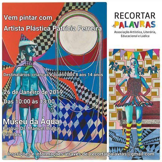 Vem pintar com a artista plstica Patrcia Ferreira