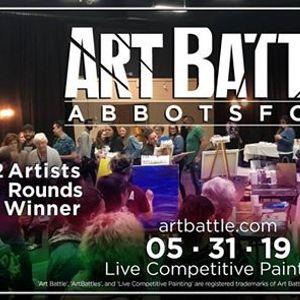 Art Battle Abbotsford - May 31 2019