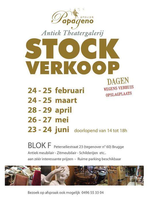 Stockverkoopdagen Wegens Verhuis DEPOT