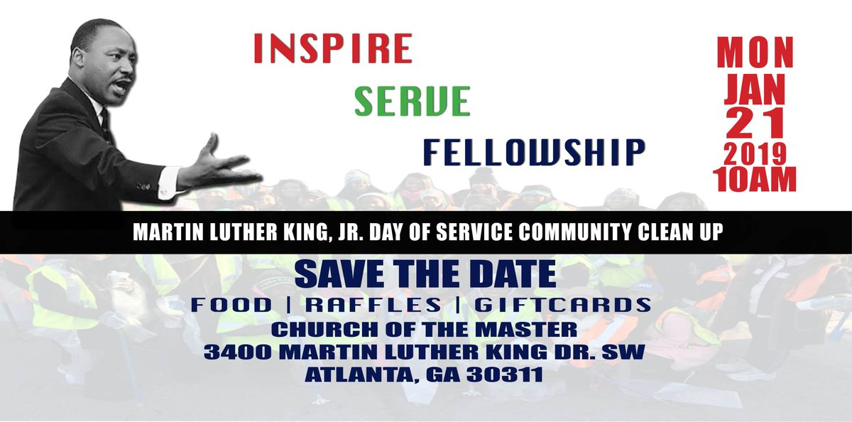 Community Cleanup Martin Luther King Jr Day Of Service Atlanta