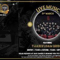 Thaikkudam Bridge - Live Music