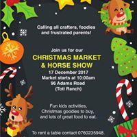 Christmas Market &amp Horse Show