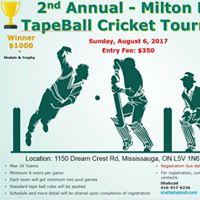 2nd Tapeball Milton Tournament