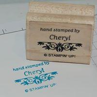 Hand Stamped by Cheryl