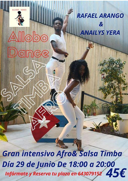 INTENSIVO DE AFRO Y SALSA TIMBA