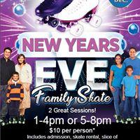 New Years Eve Family Skates