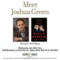 Joshua Green presents The Devils Bargain