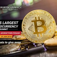 Free Admission - Cryptocurrency Investor Summit 2018