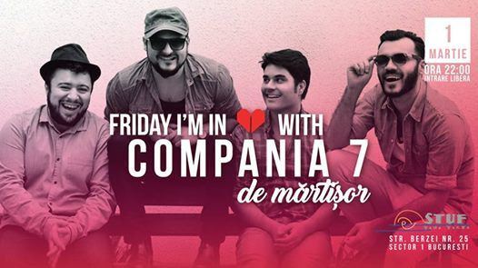 Friday Im in Love with Compania 7  Welcome back spring