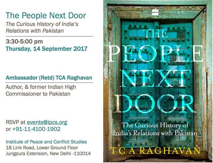 Book Reading by Amb (Retd) TCA Raghavan
