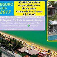 Excurso Porto Seguro  BA 2017.