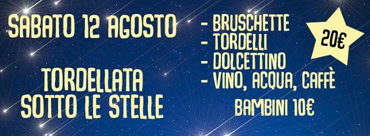 Tordellata sotto le stelle al Bagno Milano