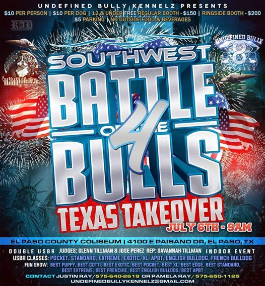 Battle Of The Bulls 4 Texas Takeover At El Paso County Coliseum El
