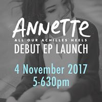ANNETTE DEBUT EP Launch