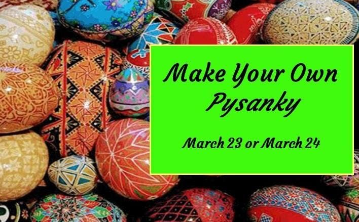 Make Your Own Pysanky Egg