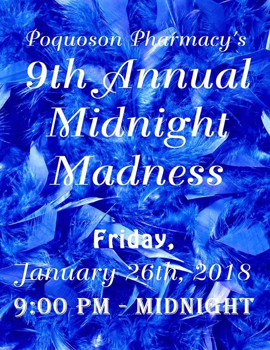 9th Annual Midnight Madness