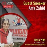 Seminar On Yoga By Arfa Zahid On Fitness Expo Dubai Pakistan